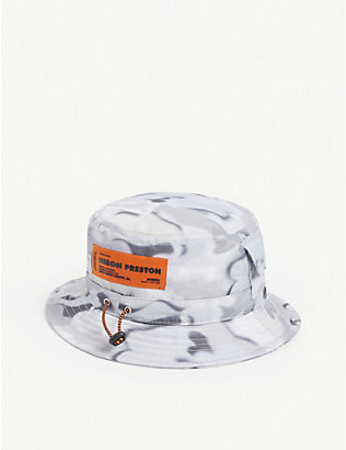 HERON PRESTON: Camouflage-printed nylon bucket hat