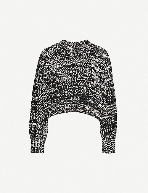 TOPSHOP V-neck knitted jumper