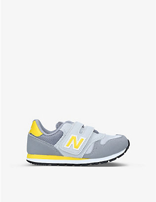 NEW BALANCE: 373 Hook and Loop trainers 6-9 years