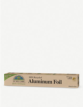 IF YOU CARE: Recycled aluminium foil 10m