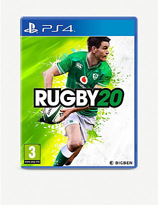 SONY:Rugby 20 PS4 游戏机