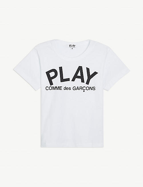 COMME DES GARCONS: Graphic-print cotton-jersey T-shirt 2-6 years