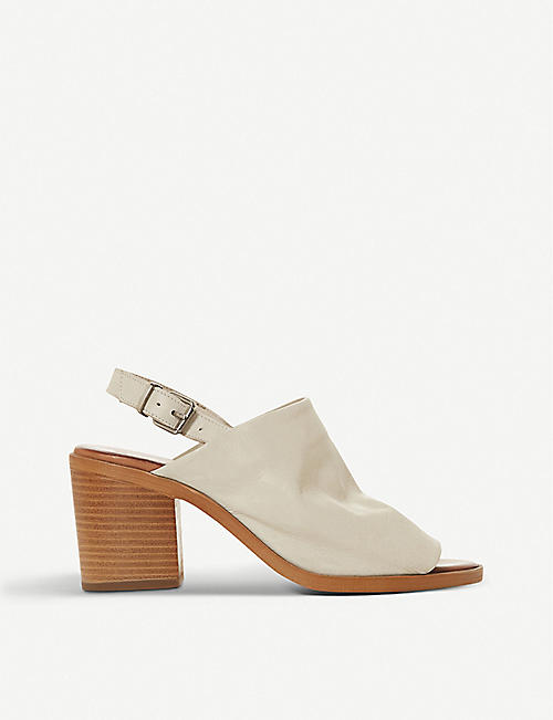 BERTIE: Issi slingback leather sandals