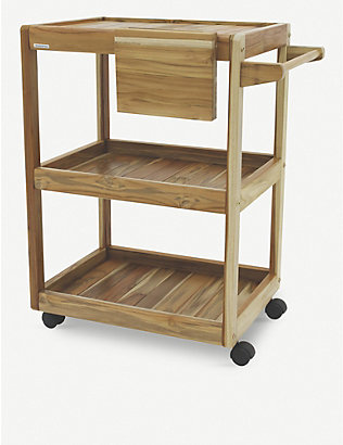 TRAMONTINA: Barbecue wood serving trolley