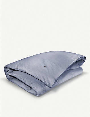 RALPH LAUREN HOME: Oxford yarn dyed cotton duvet cover