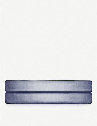 RALPH LAUREN HOME: Oxford yarn dyed cotton fitted sheet