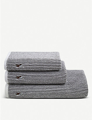 RALPH LAUREN HOME: Bauer cotton bath sheet 90cm x 170cm