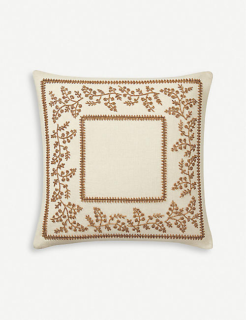 RALPH LAUREN HOME: Charleston cotton cushion cover 65cm x 65cm