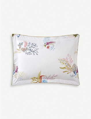 YVES DELORME: Calypso cotton oxford pillowcase 30x40cm