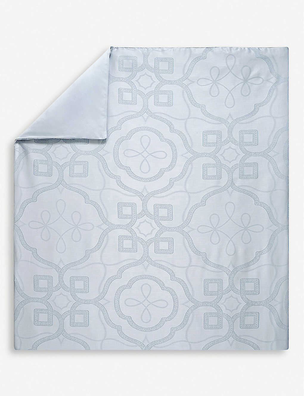 YVES DELORME: Odyssee cotton-sateen duvet cover