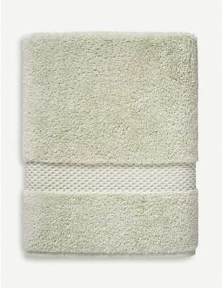 YVES DELORME: Étoile cotton-blend bath sheet 92cm x 160cm
