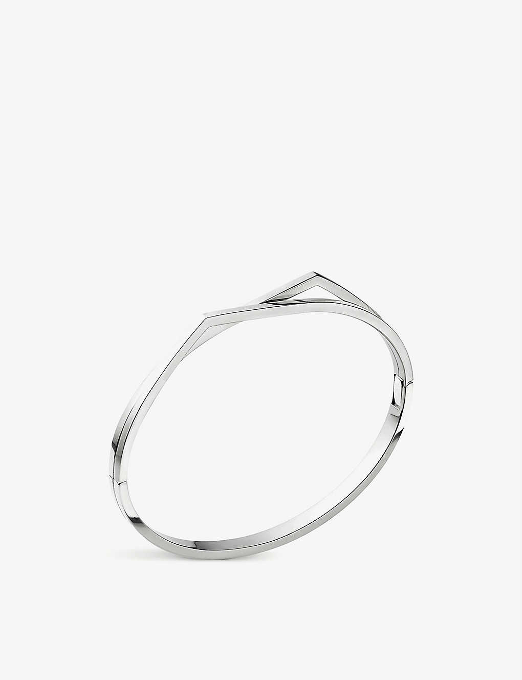 REPOSSI: Antifer white-gold bracelet