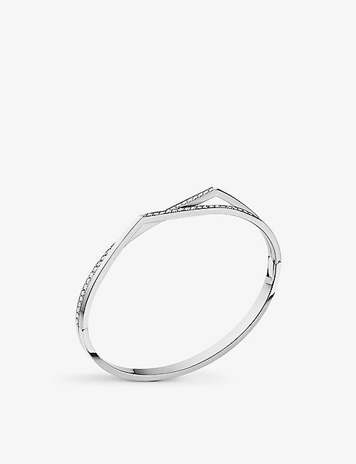 REPOSSI Antifer 18ct white-gold and diamond bracelet