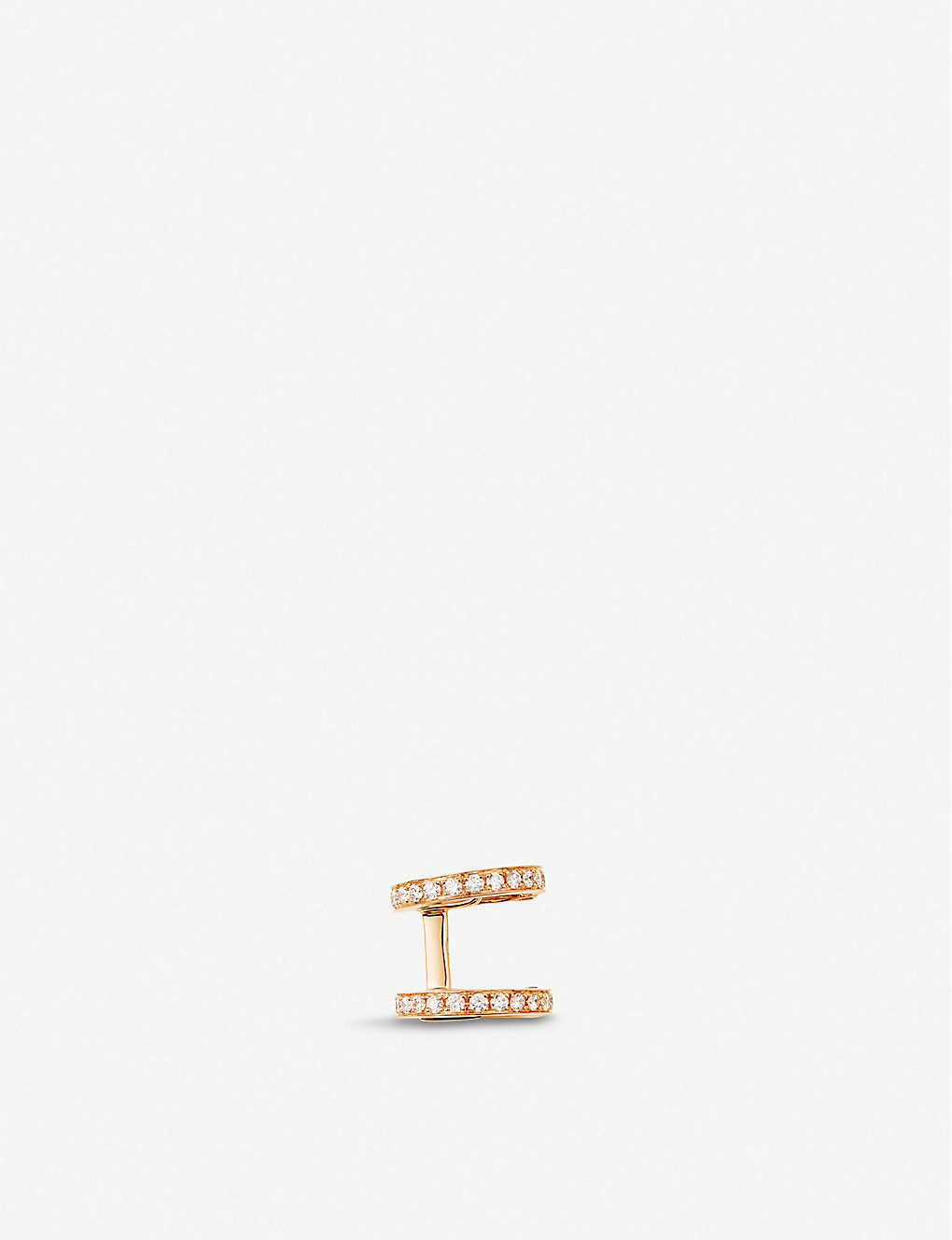 REPOSSI: Berbere diamond and 18ct pink-gold ear cuff