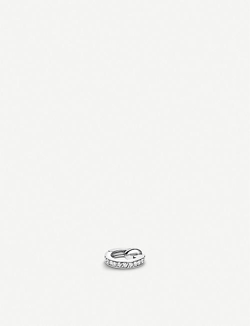 REPOSSI: Berbere Module 18ct white-gold and diamond pavé ear cuff