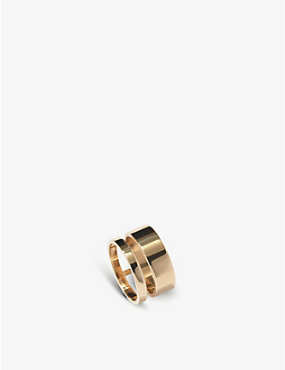 REPOSSI: Berbere Module 18ct rose-gold ring