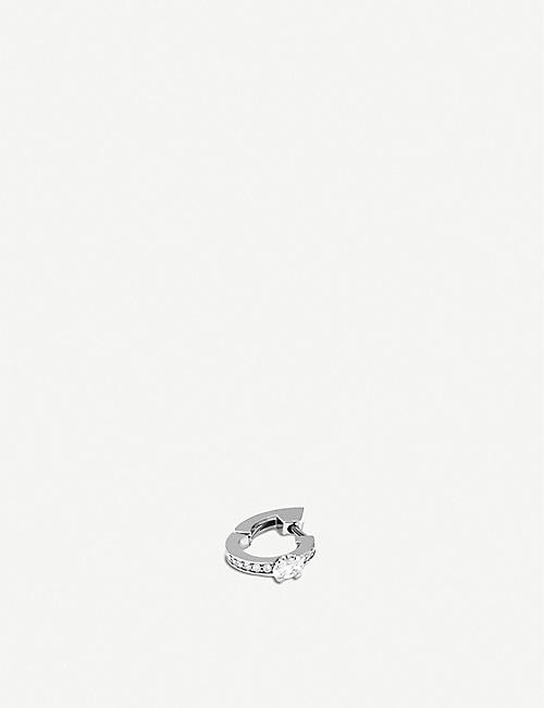 REPOSSI: Harvest 18ct white-gold and diamond earring