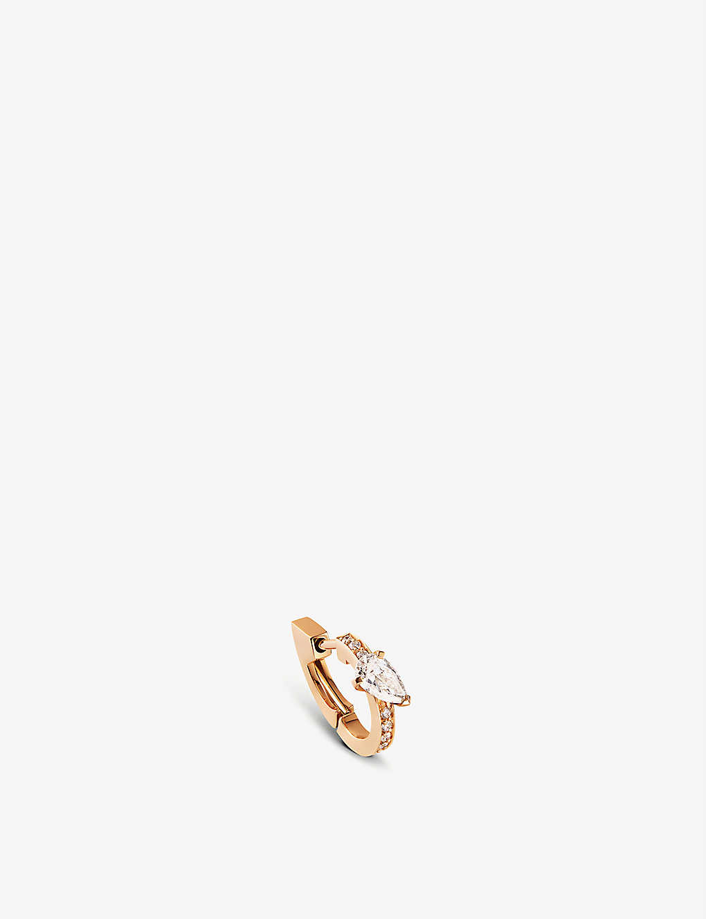 REPOSSI: Harvest 18ct pink-gold and diamond earring