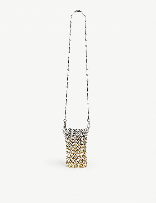 PACO RABANNE Mini 1969 chainmail cross-body bag