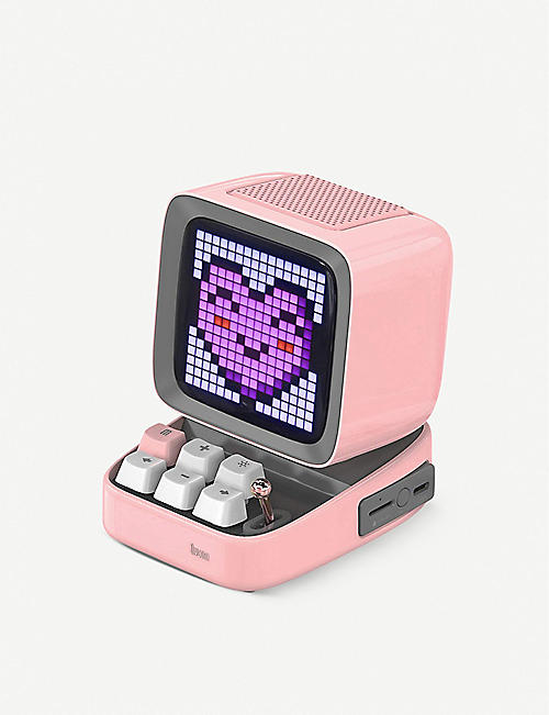 THE TECH BAR: Divoom Ditoo Pixel Art Bluetooth speaker