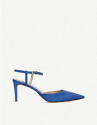 LK BENNETT: Hope backless suede courts
