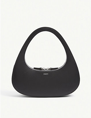 COPERNI: Swipe leather baguette bag