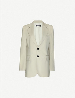 KWAIDAN EDITIONS: Single-breasted oversized wool blazer