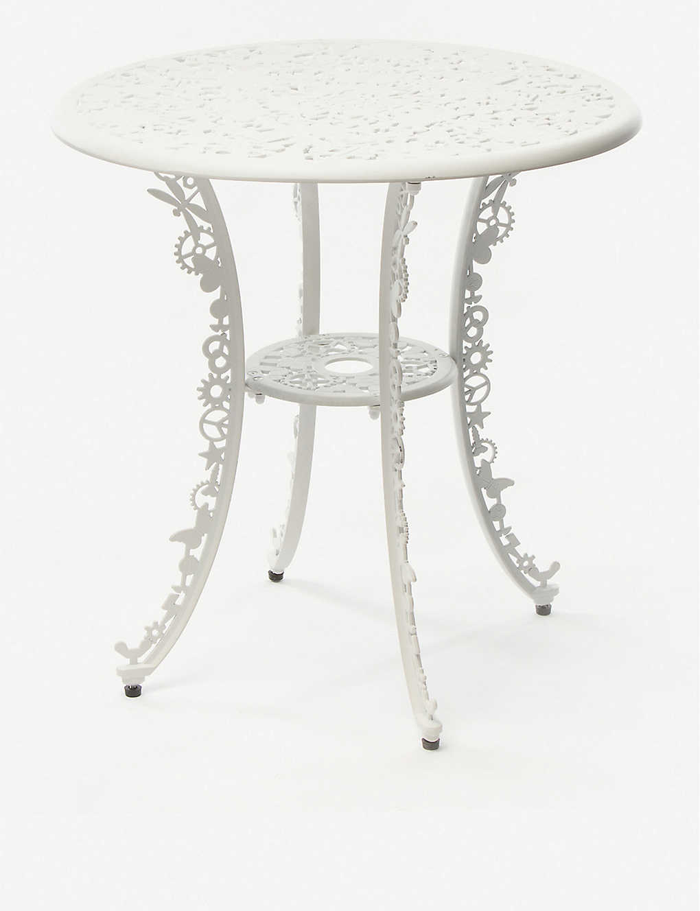 SELETTI: Industry cast-aluminium table 74cm