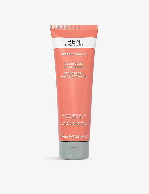 REN: Perfect Canvas Clean Jelly Oil cleanser 100ml