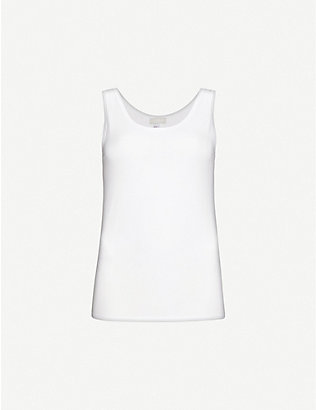 HANRO: Cotton Sensation cotton-jersey top