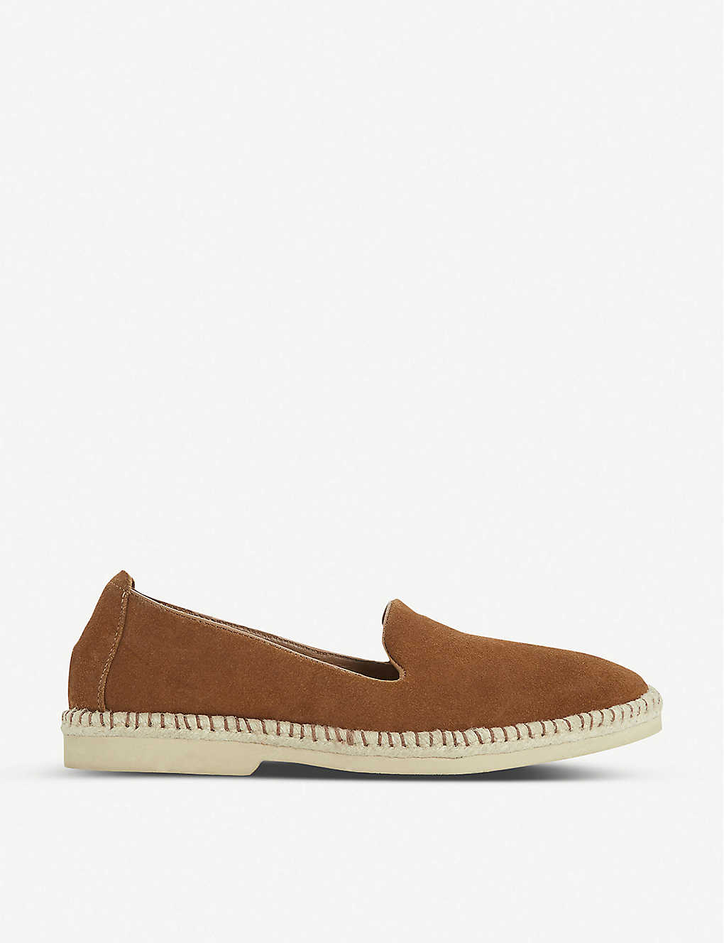 BERTIE: Grasp suede loafers