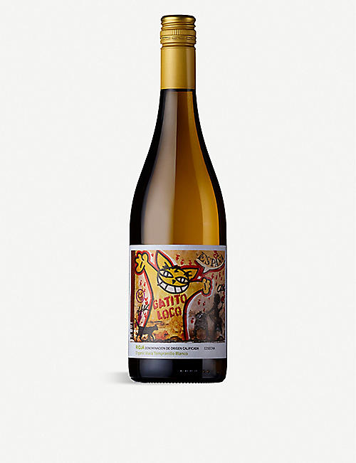 SPAIN: Gatito Loco 2018 Blanco Organic rioja 750ml