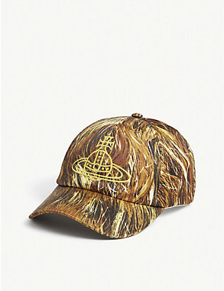 VIVIENNE WESTWOOD: Hair-print cotton-blend baseball cap