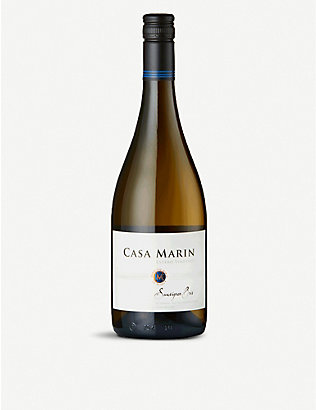 CHILE:Casa Marín Estero Vineyard 索维农白葡萄酒 750 毫升