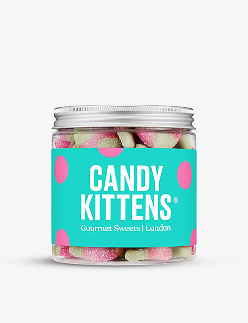 CANDY KITTENS: Sour Watermelon gummy sweets jar 350g