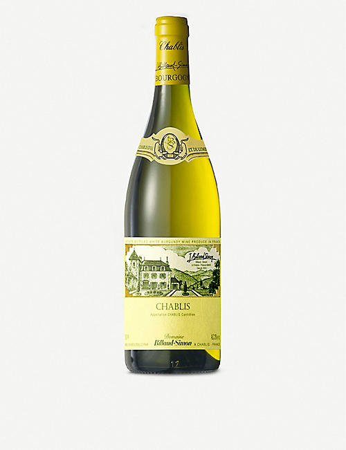 BURGUNDY: Domaine Billaud-Simon 2018 chablis 750ml