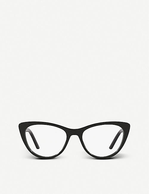 PRADA: PR 05XV Millennials acetate cat-eye frame optical glasses