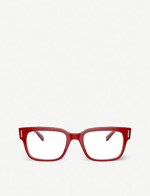 RAY-BAN: RX5388 RED BLK 53/20/150