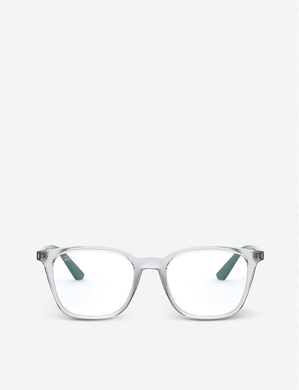 RAY-BAN: RX7177 acetate square-frame glasses