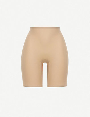 CHANTELLE: Soft Stretch high-rise stretch-woven shorts