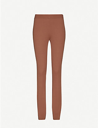 DESIGNERS REMIX: Alvin mid-rise knitted trousers