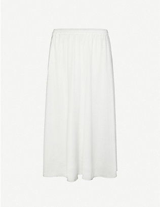 DESIGNERS REMIX: Kacy high-waisted woven maxi skirt