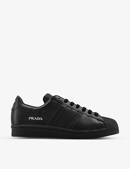 ADIDAS STATEMENT: adidas x Prada Superstar leather trainers