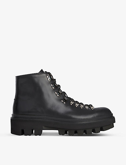 ALLSAINTS: Isaac leather ankle boots