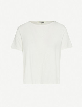 NONE: Oversized stretch-jersey T-shirt