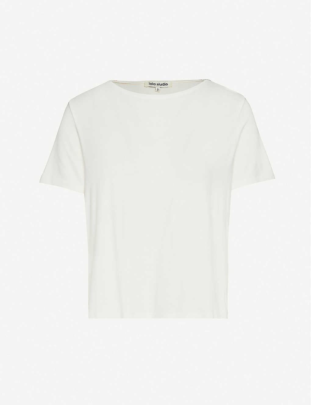 : Oversized stretch-jersey T-shirt