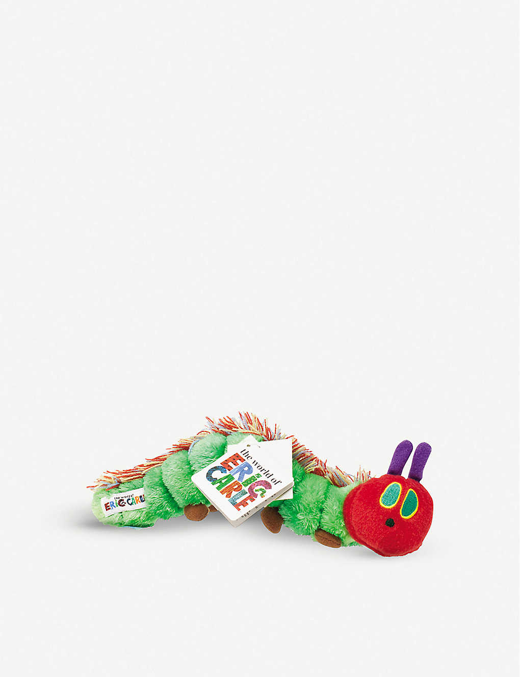 HUNGRY CATERPILLAR: The Very Hungry Caterpillar soft toy 25cm