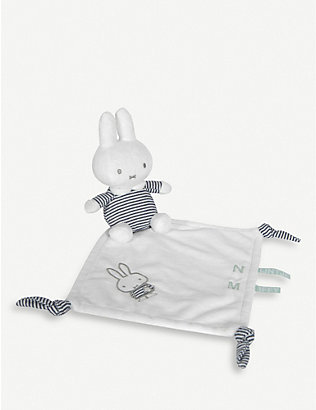 MIFFY: Miffy Stripes cuddle blanket