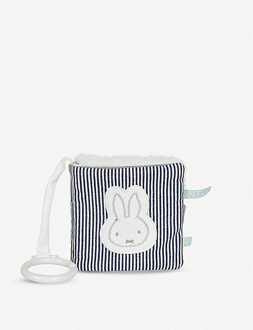 MIFFY: Miffy Stripes plush activity book