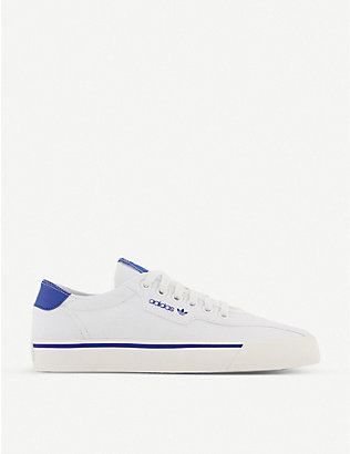 ADIDAS: Love Set Super canvas trainers